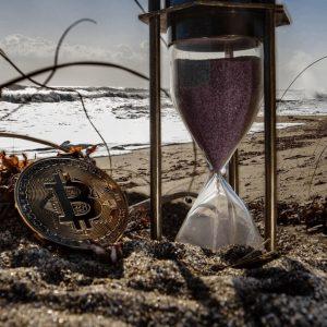 Représentation d'un bitcoin-crypto-monnaie
