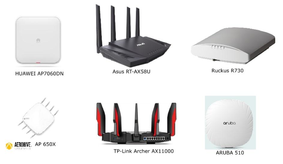 Type de borne Wi-Fi